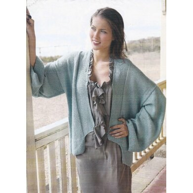 Moss Edge Wide Sleeve Cardigan