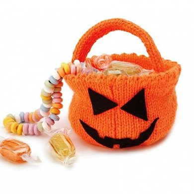Halloween Trick or Treat Pumpkin Bowl Pattern