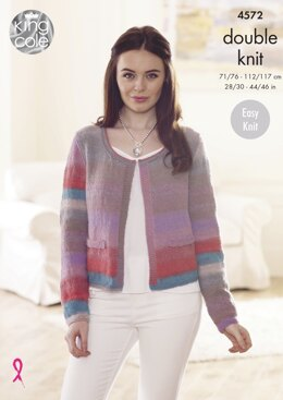 Jackets in King Cole Sprite DK - 4572 - Downloadable PDF