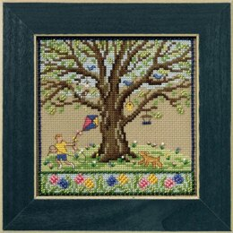 Mill Hill Spring Oak Cross Stitch Kit