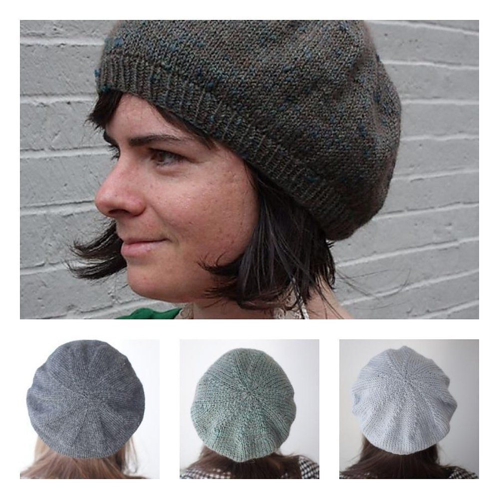 Simple beret knitting pattern by knitbot knitting patterns zoom bankloansurffo Images