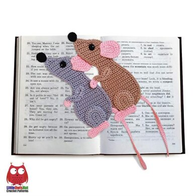 244 Rat or Mouse Decor