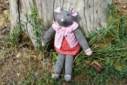 Mouse doll - Woodland collection