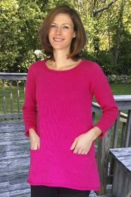 A-Line Tunic to Knit