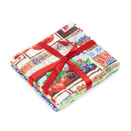 Craft Cotton Company Cherries Jubilee Fat Quarter Bundle