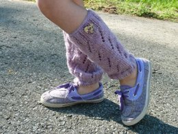 "Leg warmers ""Digitalis"""