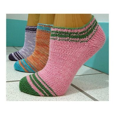 Summer Striped Socklet