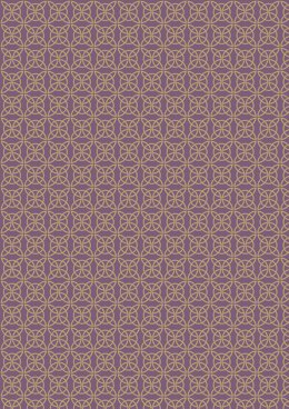 Lewis & Irene Celtic Reflections Heather Celtic Knot (Gold Metallic) Cut to Length