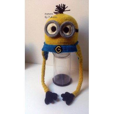 Kevin The Minion Hat Perfect Gift Crochet Pattern By Patricia