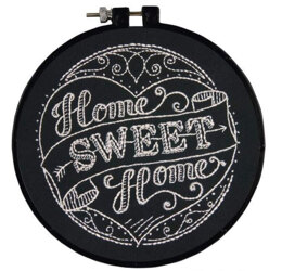 Dimensions Home Sweet Home Embroidery Kit