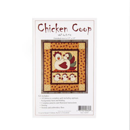Rachel's Of Greenfield Chicken Coop Quilt Kit