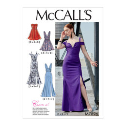 McCall's Misses' Dresses M7896 - Sewing Pattern