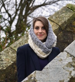 Winter Jasmine Cowl - for Adults and Children