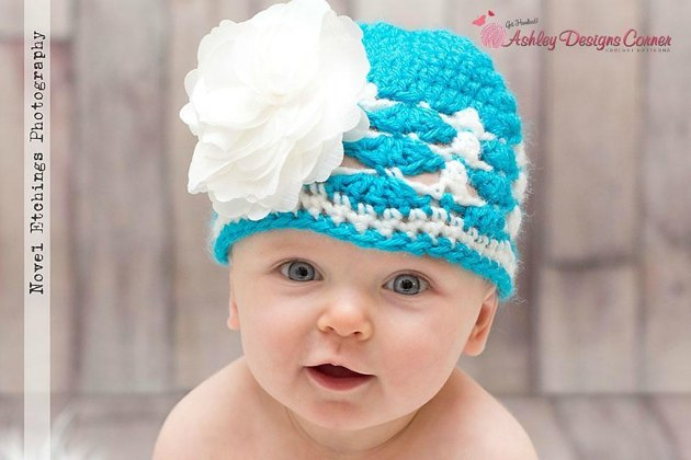 Ashley s Baby Afghan Crochet Pattern : Holley Beanie (Newborn - Adult) Crochet pattern by Ashley ...