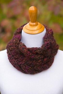 Chunky Cable Cowl