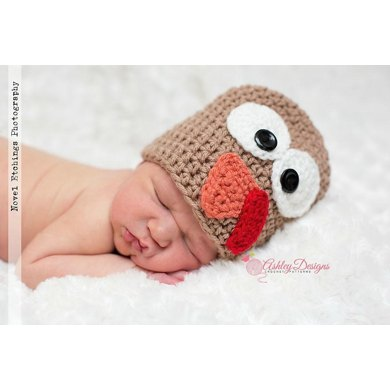Turkey Beanie (Newborn - Adult)