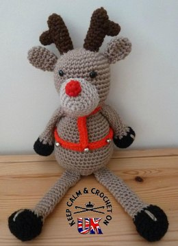Crochet patterns loveknitting page 6 rudy the shelf reindeer ccuart Images