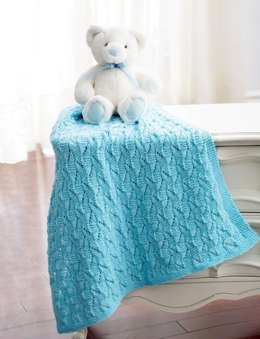Staggered Squares Blanket in Bernat Baby Sport