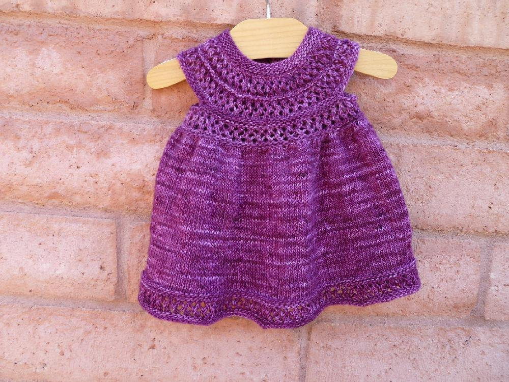 Mischa Baby Dress Knitting pattern by Taiga Hilliard Designs ...