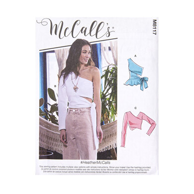 McCall's Misses' Tops M8117 - Sewing Pattern