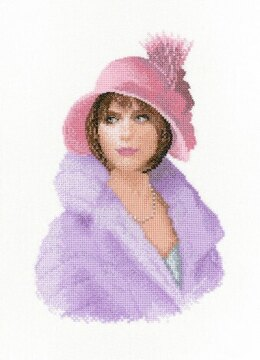 Heritage Harriet Cross Stitch Kit - 16cm x 24.5cm