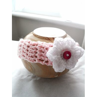 Whimsical Headband with Flower