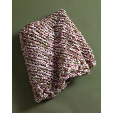 Wee Warmth Baby Blanket in Lion Brand Homespun - 80978AD