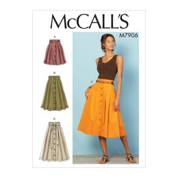 McCall's Misses' Skirts M7906 - Sewing Pattern