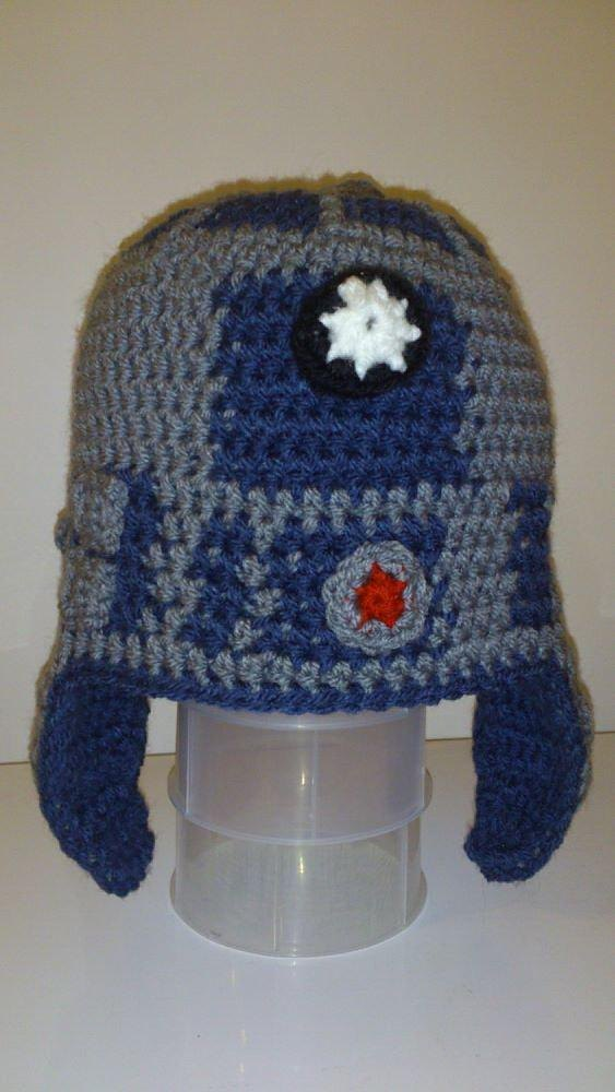 Knitting Pattern For R2d2 Hat : Starwars R2D2 Hat Pattern Crochet pattern by Patricia Stuart Knitting Patte...