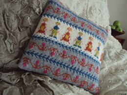 People Cushion Cover