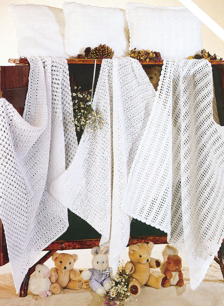 Crochet Blankets And Pillowcases In Sirdar Snuggly 2 Ply