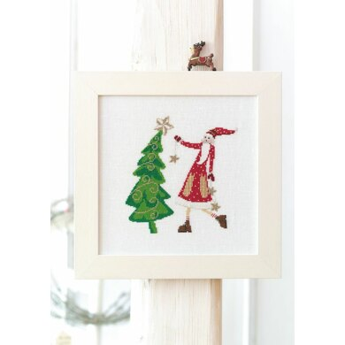 Enchanting Christmas - Christmas Picture in Anchor - Downloadable PDF
