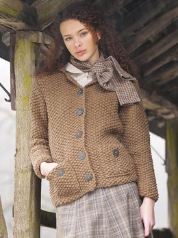 Grasmere Cardigan in Rowan British Sheep Breeds Chunky Undyed
