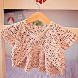 Flutter Sleeve Shrug