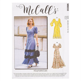 McCall's #SophiaMcCalls - Misses' Dresses M8033 - Sewing Pattern