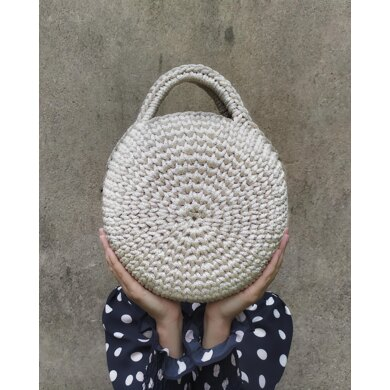 Silver  Moon Trail Crochet Bag Pattern
