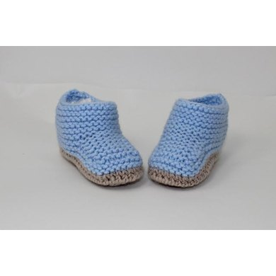 Chunky Baby Ankle Booties