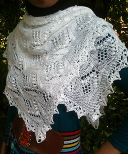 Butterfly Square Shawl