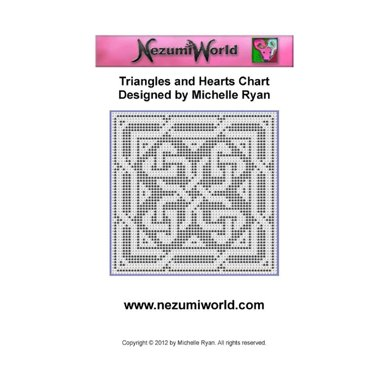 Triangles and Hearts Chart