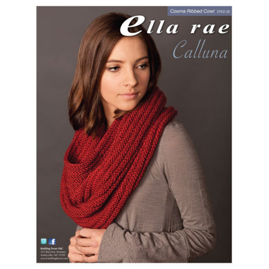 coomba ribbed cowl in ella rae calluna er02 06 downloadable pdf. Black Bedroom Furniture Sets. Home Design Ideas