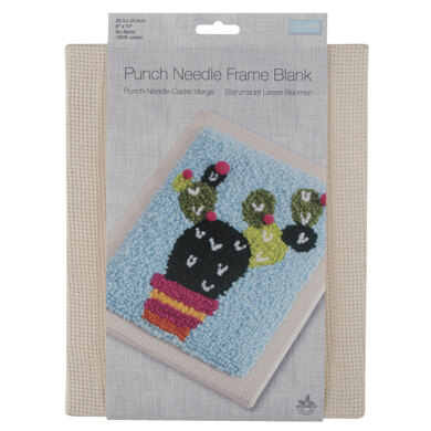 Trimits Punch Needle Frame: 9 Count: Cream: 20.3 x 25.5cm (8 x 10in)