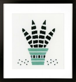 Vervaco Succulent Cross Stitch Kit - PN-0164101