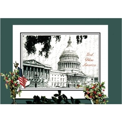 Ronnie Rowe The U.S. Capitol - Pen & Ink Series - RRP1 -  Leaflet