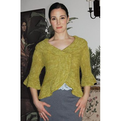 Saratoga Shrug to Knit