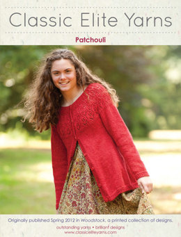 Patchouli Cardigan in Classic Elite Yarns Cricket - Downloadable PDF