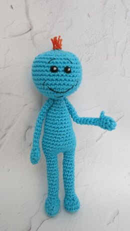Mr. Meeseeks - Rick and Morty inspired by