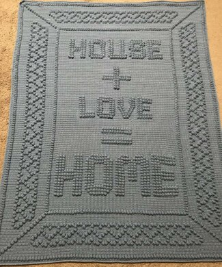 House Love Home Crochet pattern by Tricia Crow