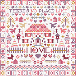 Riverdrift House No Place Like Home Cross Stitch Kit