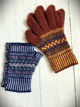 Fair Isle Gloves and Mitts
