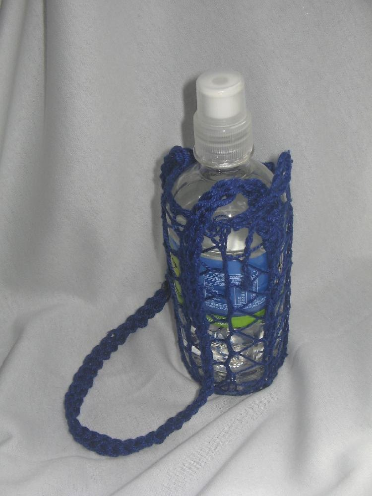 Water Bottle Holder Knitting Pattern By Rian Anderson